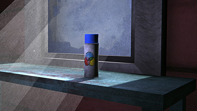 New Item: Spray Can