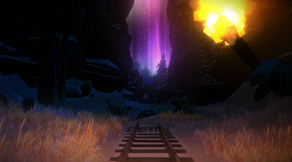 The mysterious aurora is both beautiful, and introduces new gameplay opportunities.
