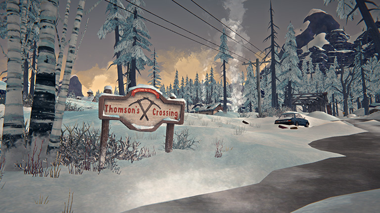 Thomson's Crossing. Most of Episode Three's story takes place in this former mining town, and the surrounding area. It'll take all of Astrid's skill as a doctor to navigate what she finds here. What survivors will she encounter along the way, and what stories will they have to tell?