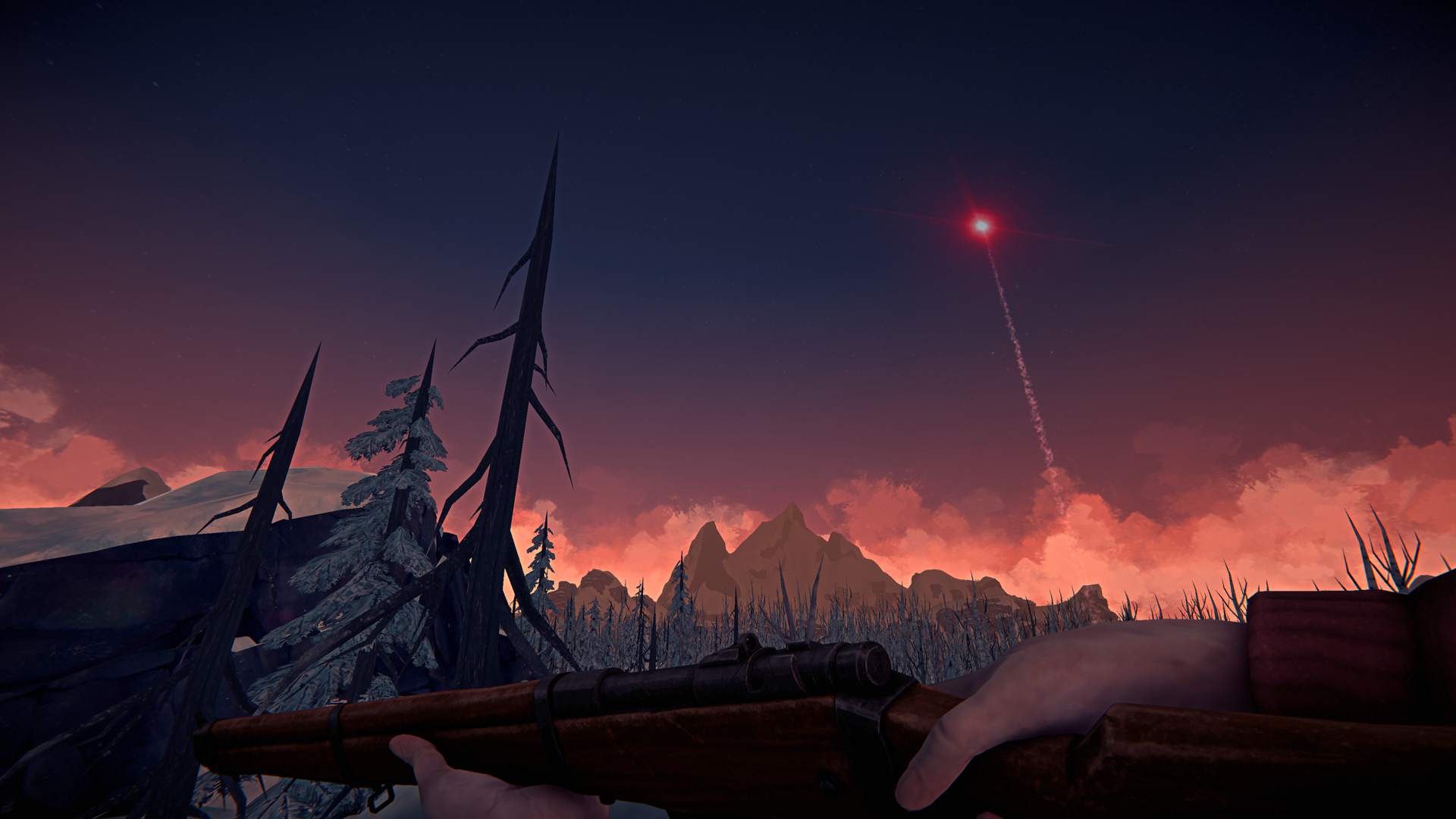 The Long Dark -- Episode Three: CROSSROADS ELEGY -- Distress Screenshot