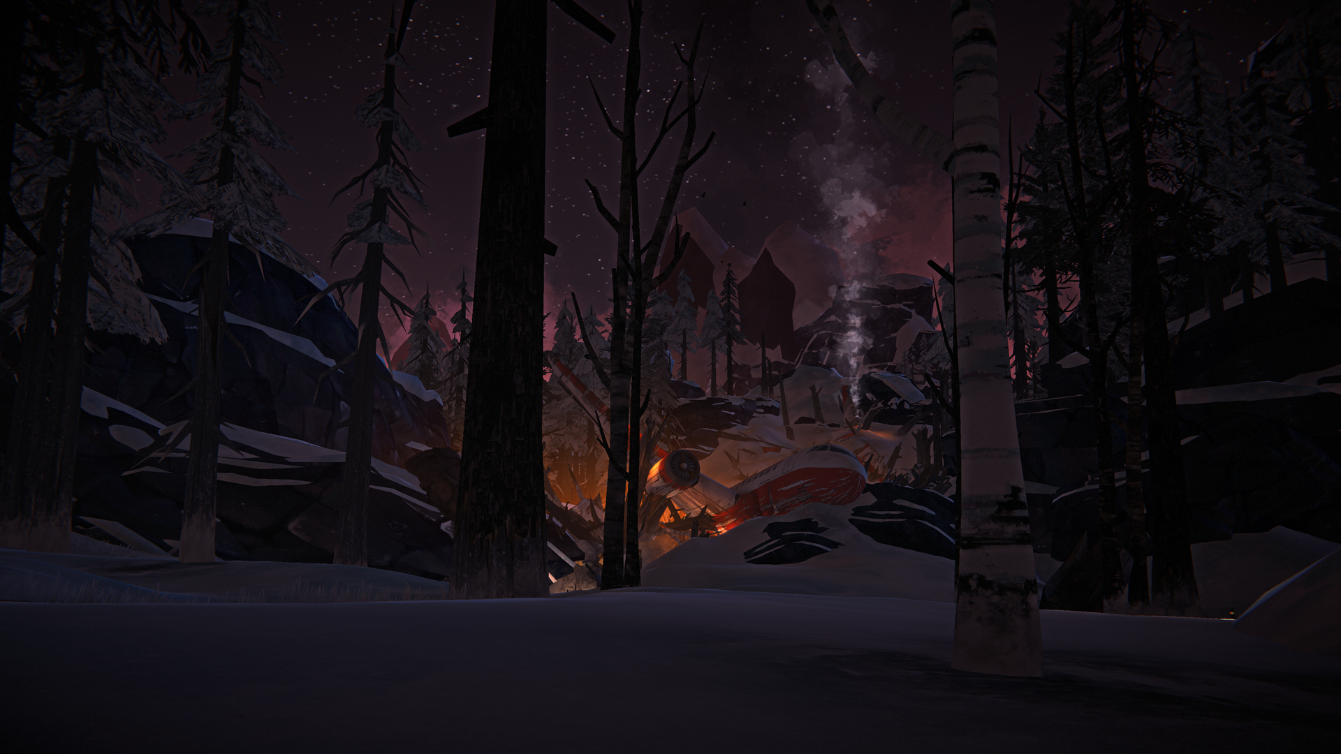The Long Dark -- Episode Three: CROSSROADS ELEGY -- Fallen Star Screenshot