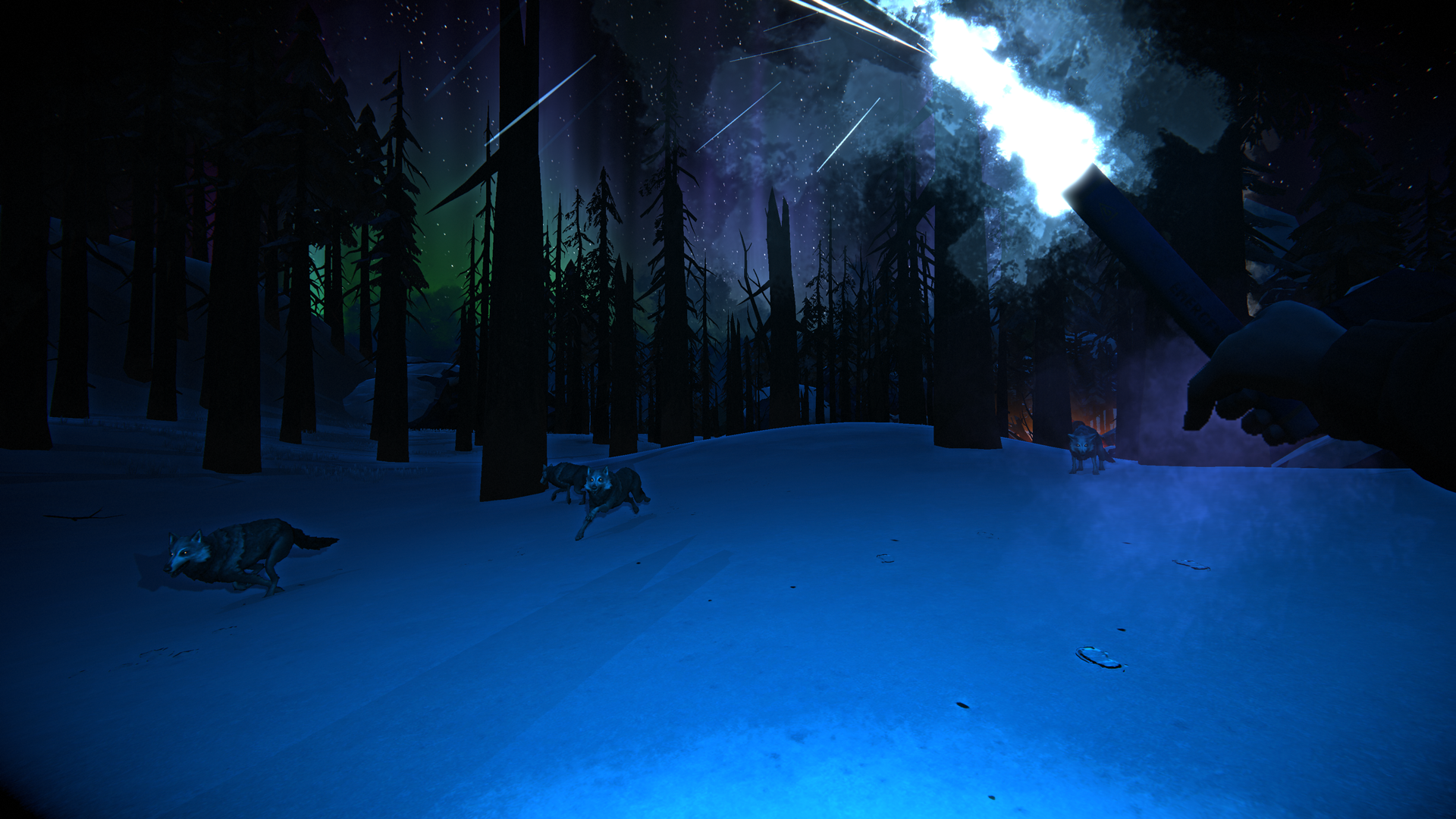 The Long Dark -- Episode Three: CROSSROADS ELEGY -- Timberwolves Screenshot