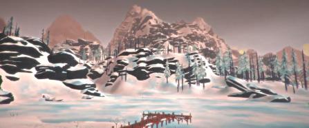 Timberwolf Mountain artwork